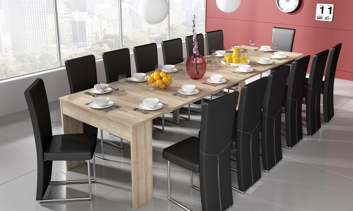 Extending table console 60 off groupon goods for Table th visible