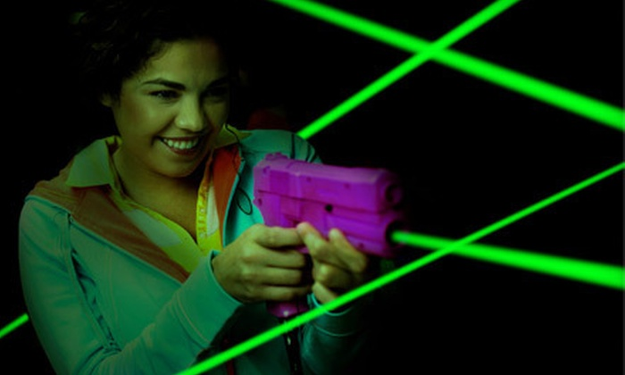 Brew City Paintball - Waukesha: Laser-Tag Games for Four or Eight, or Private Bounce-House Party for Up to 30 at Brew City Paintball (Up to 61% Off)