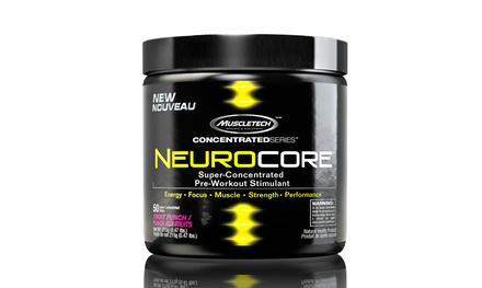 MuscleTech NeuroCore Pre-Workout Stimulant (50 Servings)