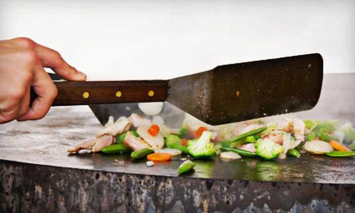 SooWoo Japanese Steakhouse - Pembroke Pines: $25 for $50 Worth of Japanese and Korean Cuisine at SooWoo Japanese Steakhouse in Pembroke Pines