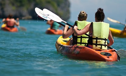 image for Four-Hour Rental of One Tandem Kayak or Two Single Kayaks from Palma Sola Kayaks (54% Off)