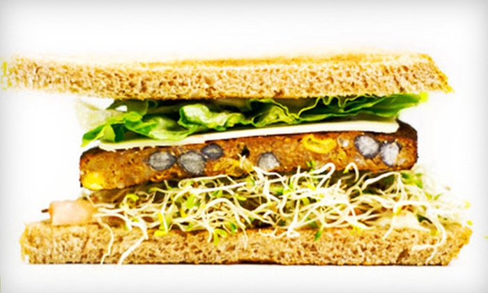 Health Nut Cafe - Health Nut Cafe: Healthy Deli Fare for Two or Four at Health Nut Cafe (Half Off)