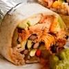 Large Burrito, Nachos and Drink