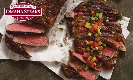 Essential BBQ Meat Packages from Omaha Steaks (Up to 73% Off). Three Options Available.