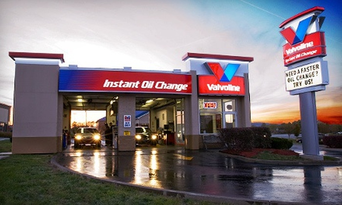 Valvoline Instant Oil Change - Multiple Locations: Oil Change with Conventional Oil or Gas Saver Oil Change Package at Valvoline Instant Oil Change (Up to 54% Off)