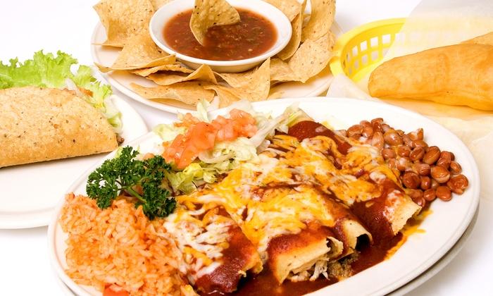 La Chimenea - Multiple Locations: Mexican Food at La Chimenea (45% Off). Two Locations Available.