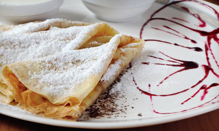 Rue des Crepes - Harrison: $20 for $40 Worth of Crêpes, Fondue, French Cuisine, and Drinks on Sunday–Thursday or Friday–Saturday at Rue des Crêpes
