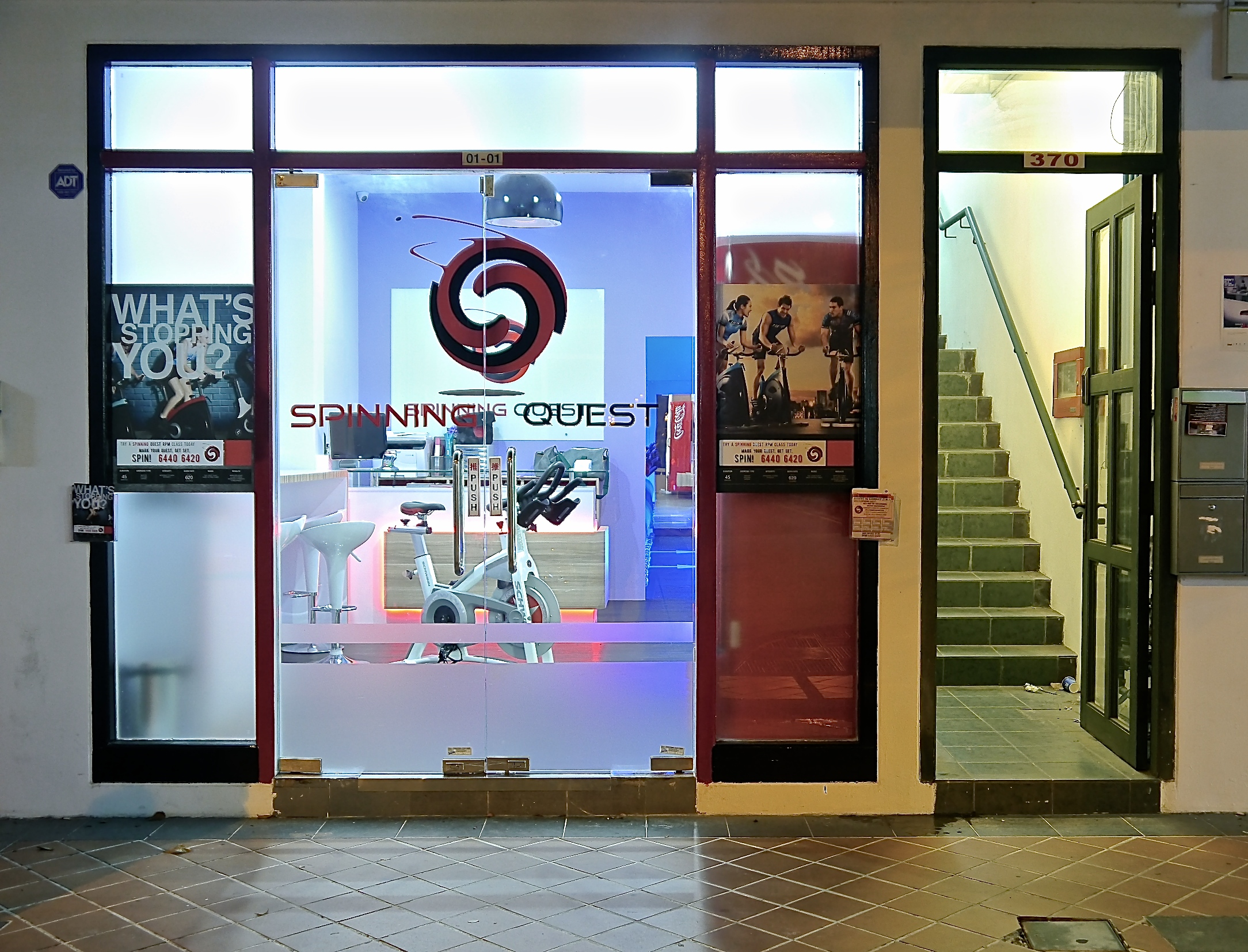 spinning quest singapore
