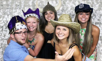 Two- or Three-Hour <strong>Photo Booth</strong> Rental from The iLOVE Team (62% Off)