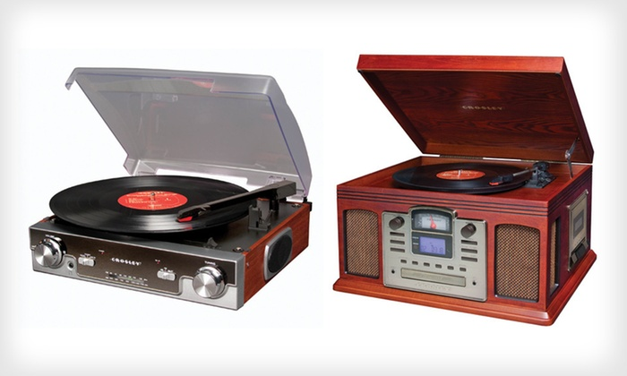 Crosley Turntables: Crosley Turntables (Up To 54% Off).