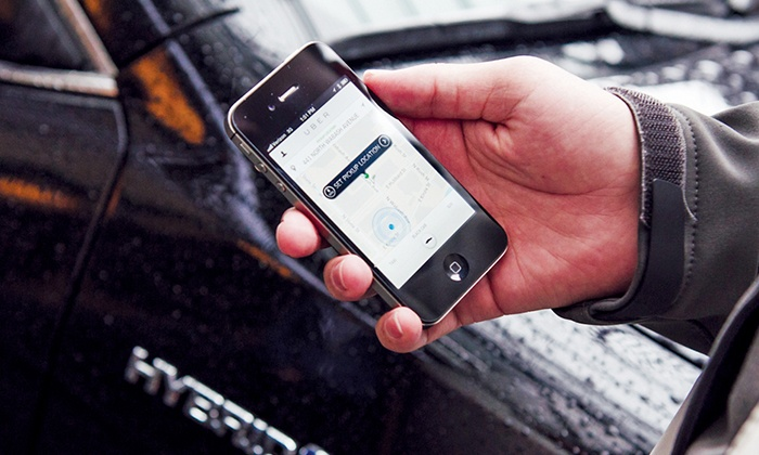 Uber - Boston: $5 for $25 Worth of uberX and Other Car Services from Uber