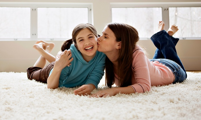 PDX Carpet Cleaning - Central Beaverton: $69 for Carpet Cleaning for Three Rooms and One Hallway from PDX Carpet Cleaning ($145 Value)