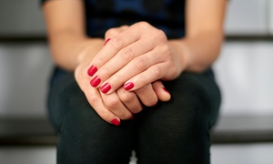 Pretty Nails By Jenny: Mani-Pedi, Shellac Manicure, or Acrylic Manicure at Pretty Nails By Jenny (Up to 51% Off)