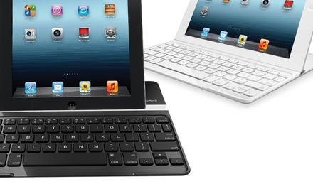Logitech Ultrathin iPad 2/3 Keyboard Cover in Black or White (Manufacturer Refurbished). Free Returns.