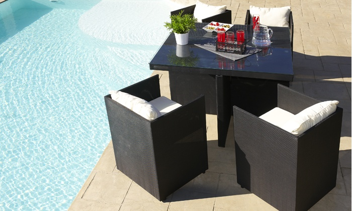 salon en textil ne groupon shopping. Black Bedroom Furniture Sets. Home Design Ideas