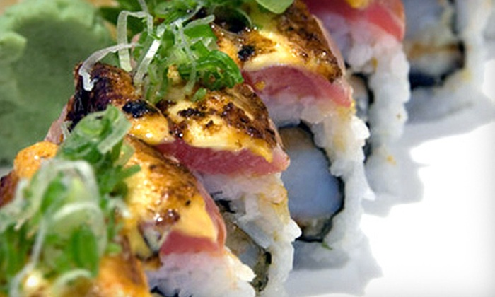Kyoto Sushi Restaurant - DePaul: Sushi and Japanese Entrees at Kyoto Sushi Restaurant (Up to 56% Off). Two Options Available.