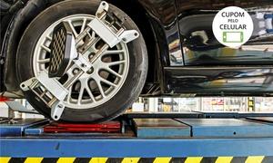 PneuBom: PneuBom – Vitória e Cariacica: Até 8 serviços automotivos com opção de troca de óleo
