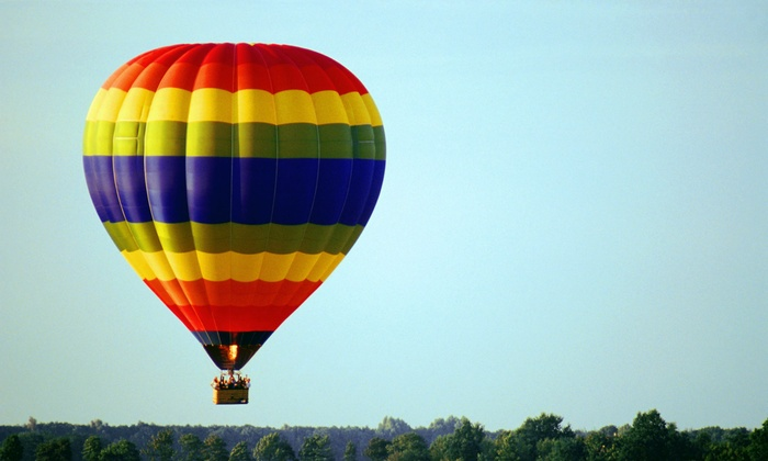 Balloon AD-Ventures - Middle Creek: $315 for Hot-Air-Balloon Flight with a Traditional Toast for Two from Balloon AD-Ventures ($590 Value)