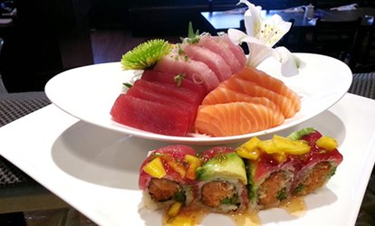 image for Japanese Cuisine at Ninja Sushi (40% Off). Two Options Available.