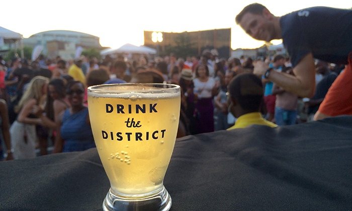 Drink the District Beer Fest - Mount Vernon Square: $29 for Session 1 or 2 General Admission to Drink the District Beer Fest at The Block on Saturday, July 25 ($50 Value)