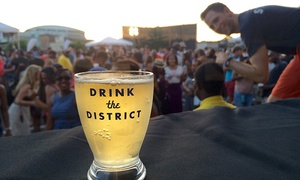 36% Off 5th Annual Beer Fest at Drink the District, plus 6.0% Cash Back from Ebates.