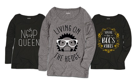 Women's Long-Sleeved Winter Tees