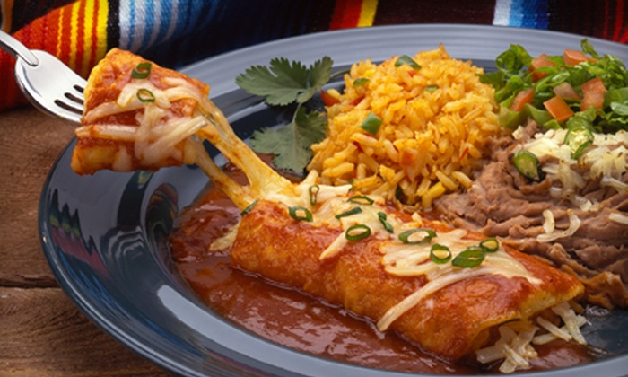 Fiesta Ole Mexican Restaurant - Multiple Locations: $25 for a Three-Course Dinner for Two at Fiesta Ole Mexican Restaurant (Up to $51.46 Value)