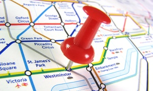 London Premier Walking Tours: London Underground Treasure Hunt for One, Two or Four (Up to 44% Off)
