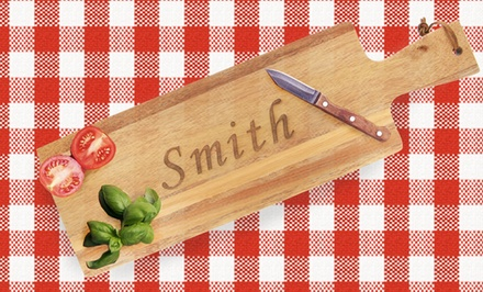 Monogram Online Personalized Cutting Boards Available from $29—$34