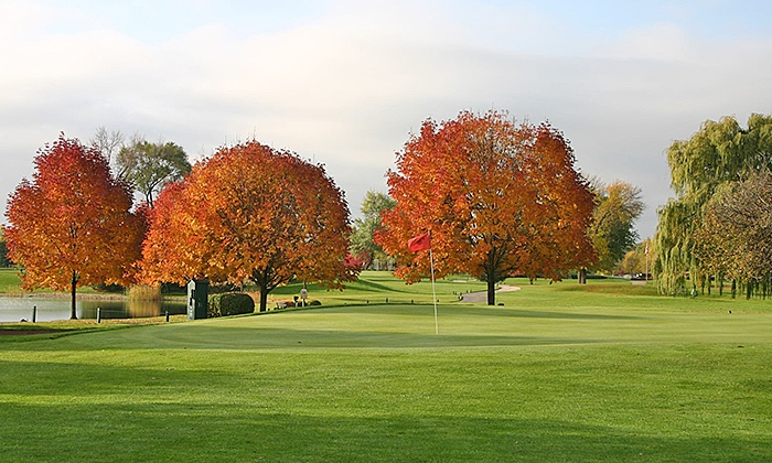 Bonnie Dundee Golf Course - Northwest Elgin: $35 for 18 Holes of Golf with Cart Rental and Golf Balls at Bonnie Dundee Golf Course ($78 Value)