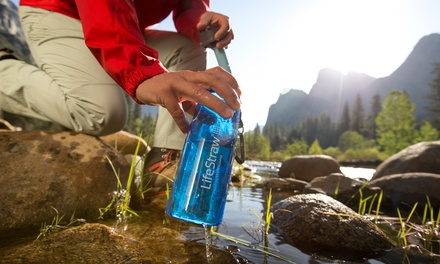 LifeStraw Go Water Bottle with Built-In LifeStraw Water Filter
