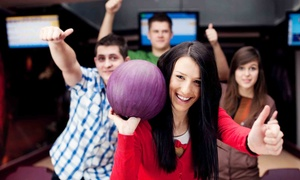 PINZ: $35 for Bowling and Laser Tag for Up to Five at PINZ ($89.44 Value)