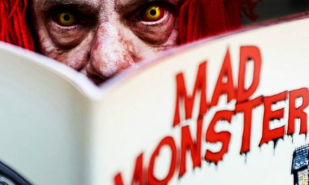 One-Day Admission for One, Two, or Four, or a Three-Day Pass for 2 at Mad Monster Horror Convention, May 8–10 (Up to 55% Off)