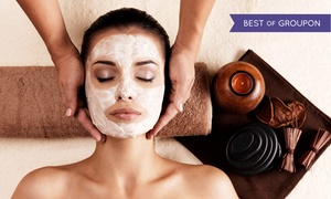 Ella Blue Beauty: $78 for Spa Day With Anti-Aging Eye Treatment and Facial or Massage at Ella Blue Beauty (Up to $166 Value)