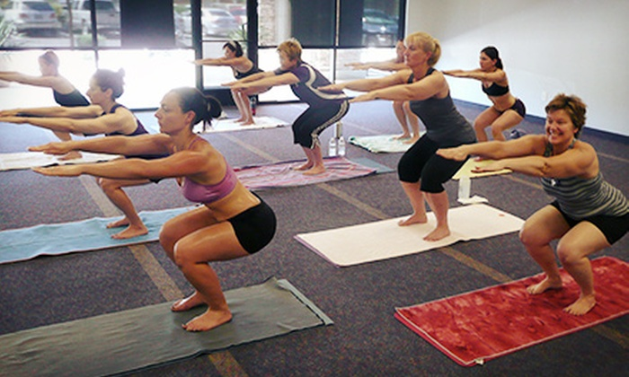 Blue Phoenix Yoga - Stetson Hills State: 10 Classes or One or Two Months of Unlimited Classes at Blue Phoenix Yoga (Up to 81% Off)