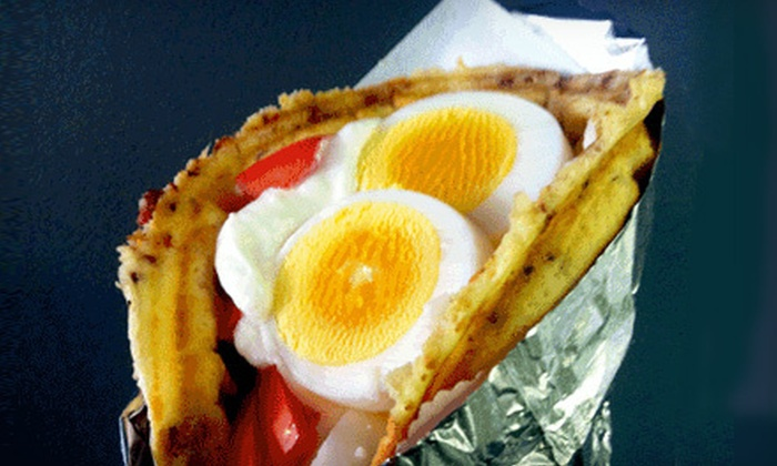 Waffle & Wolf - Greenpoint: Two Waffle Sandwiches and Two Large Drinks on Weekday or Weekend at Waffle & Wolf (52% Off)