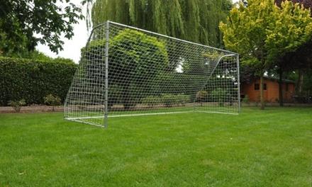 Stalen voetbalgoals tot 5 meter lang voor de tuin vanaf € 99 tot korting