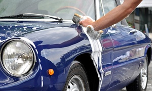 Lodi Hand Wash & Mobil 1 Lube Express: One or Three Washes or One Wash with Oil Change and Wax at Lodi Hand Wash & Mobil 1 Lube Express (Up to 49% Off)