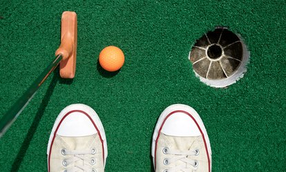 image for 18 Holes of <strong>Mini Golf</strong> for Two or Four at Sundae Funday's (33% Off)