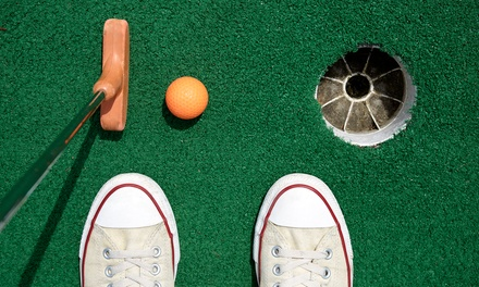 18 Holes of Mini Golf Plus Arcade Tokens for Two or Four at Big Play Family Fun Center (Up to 50% Off)