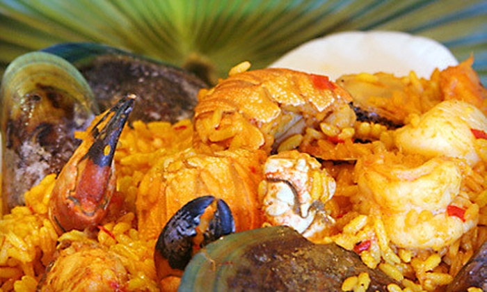 The Havana Grill - Paradise: $10 for $20 Worth of Cuban Cuisine and Drinks at The Havana Grill