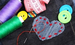 La Bottega della Fantasia: Corso di patchwork, cucito creativo o ricamo (sconto fino a 76%)
