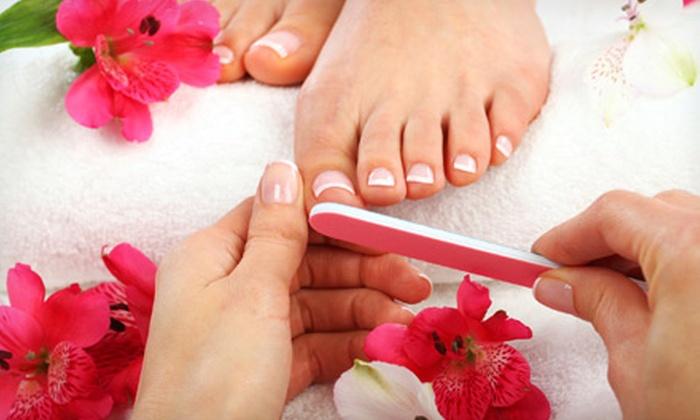 Beyond Beauty Salon N Spa - Oak Lawn: Spa or Shellac Mani-Pedi at Beyond Beauty Salon N Spa (Up to 56% Off)