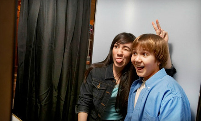 My Social Booth - Los Angeles: $199 for a Two-Hour Photo-Booth-Rental Package from My Social Booth ($400 Value)