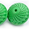 2-Pack of Green Wash Ball Detergent-Free Laundry Balls