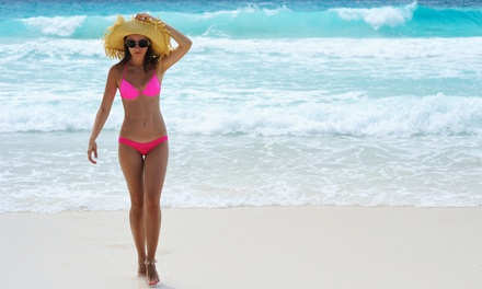 One or Three Organic Spray Tans or One Spray Tan Per Month for One Year at Just Melt (Up to 77% Off)