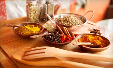 90- or 180-Minute Indian Cooking Class for One or Two from Mala's Indian Cooking Classes in Wilbraham (Up to 54% Off)