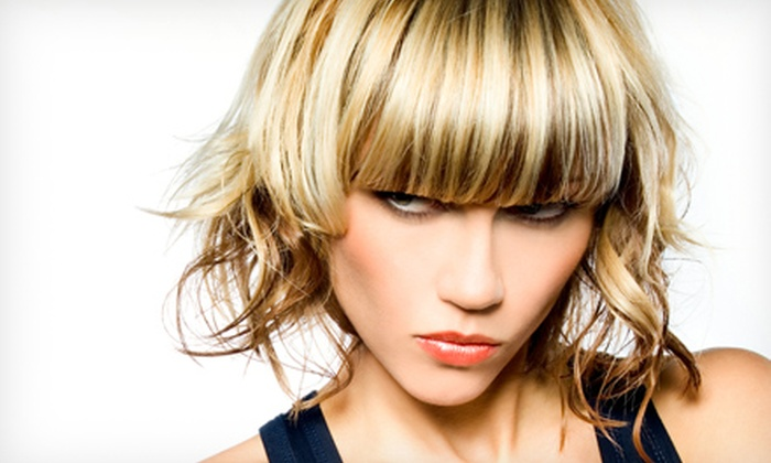 Blowdry & More - Coral Gables Section: $39.99 for Haircut Package with Deep-Conditioning Treatment and Partial Highlights at Blowdry & More ($280 Value)