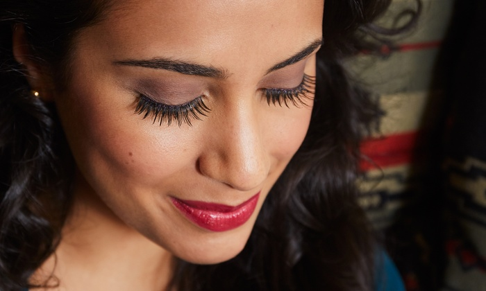 Eyelash Extensions and More By Kristine - Lash Vegas Eyelash Extensions: Full Set of Faux Mink Eyelashes with Optional Fill at Eyelash Extensions and More By Kristine  (Up to 72% Off)