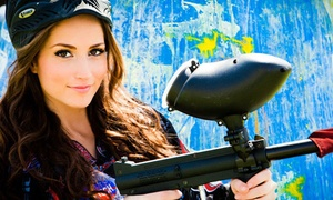 Paintball International: All-Day Paintball Package with Equipment Rental for Up to 4, 6, or 12 at Paintball International (Up to 89% Off)